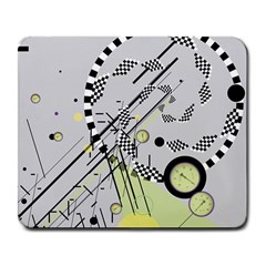 Abstract Geo Large Mouse Pad (rectangle)