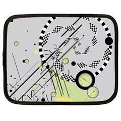 Abstract Geo Netbook Sleeve (xxl)