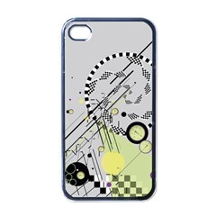 Abstract Geo Apple Iphone 4 Case (black)