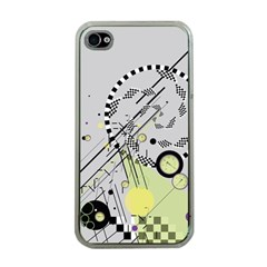 Abstract Geo Apple Iphone 4 Case (clear)
