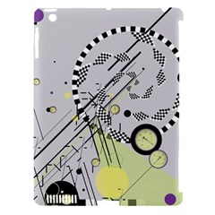 Abstract Geo Apple Ipad 3/4 Hardshell Case (compatible With Smart Cover)