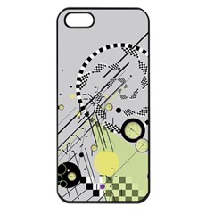 Abstract Geo Apple Iphone 5 Seamless Case (black)