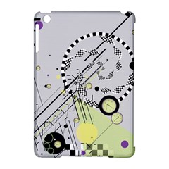 Abstract Geo Apple Ipad Mini Hardshell Case (compatible With Smart Cover)