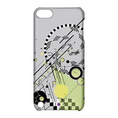 Abstract Geo Apple Ipod Touch 5 Hardshell Case With Stand