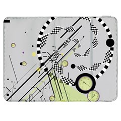 Abstract Geo Samsung Galaxy Tab 7  P1000 Flip Case