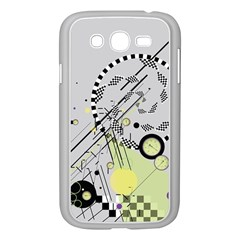 Abstract Geo Samsung Galaxy Grand Duos I9082 Case (white)