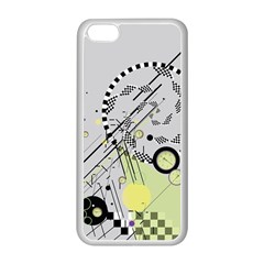 Abstract Geo Apple Iphone 5c Seamless Case (white)