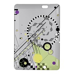 Abstract Geo Kindle Fire HDX 8.9  Hardshell Case
