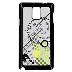 Abstract Geo Samsung Galaxy Note 4 Case (Black)