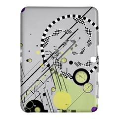 Abstract Geo Samsung Galaxy Tab 4 (10.1 ) Hardshell Case