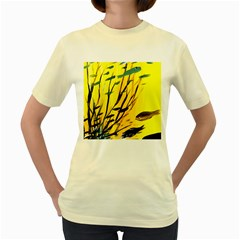 Yellow Dream Women s T-shirt (Yellow)