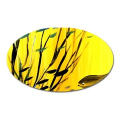 Yellow Dream Magnet (oval)