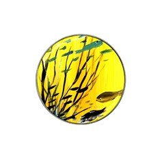 Yellow Dream Golf Ball Marker (for Hat Clip)