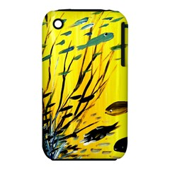 Yellow Dream Apple Iphone 3g/3gs Hardshell Case (pc+silicone)