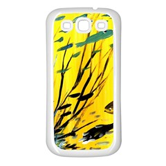 Yellow Dream Samsung Galaxy S3 Back Case (white)