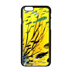 Yellow Dream Apple Iphone 6 Black Enamel Case