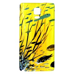Yellow Dream Samsung Note 4 Hardshell Back Case