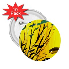 Yellow Dream 2 25  Button (10 Pack)