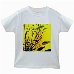 Yellow Dream Kids T-shirt (White)