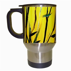 Yellow Dream Travel Mug (white)