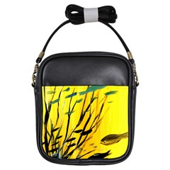 Yellow Dream Girl s Sling Bag