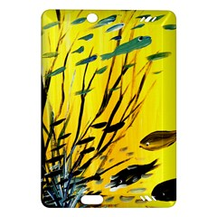 Yellow Dream Kindle Fire Hd (2013) Hardshell Case