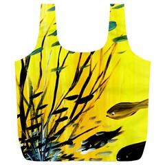 Yellow Dream Reusable Bag (xl)