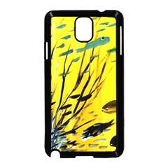 Yellow Dream Samsung Galaxy Note 3 Neo Hardshell Case (Black)