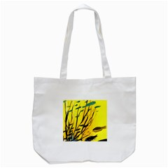 Yellow Dream Tote Bag (White)