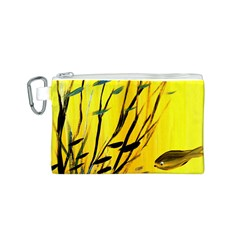 Yellow Dream Canvas Cosmetic Bag (Small)