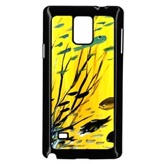 Yellow Dream Samsung Galaxy Note 4 Case (Black)