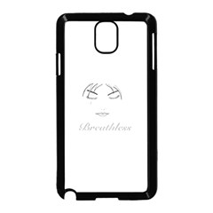 Breathless Samsung Galaxy Note 3 Neo Hardshell Case (black)