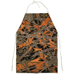 Intricate Abstract Print Apron