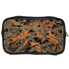 Intricate Abstract Print Travel Toiletry Bag (one Side)