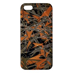 Intricate Abstract Print Iphone 5s Premium Hardshell Case