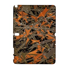 Intricate Abstract Print Samsung Galaxy Note 10 1 (p600) Hardshell Case