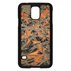 Intricate Abstract Print Samsung Galaxy S5 Case (black)