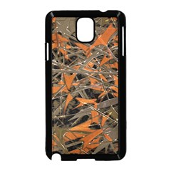 Intricate Abstract Print Samsung Galaxy Note 3 Neo Hardshell Case (black)