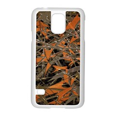 Intricate Abstract Print Samsung Galaxy S5 Case (White)