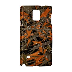 Intricate Abstract Print Samsung Galaxy Note 4 Hardshell Case
