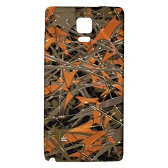 Intricate Abstract Print Samsung Note 4 Hardshell Back Case