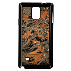 Intricate Abstract Print Samsung Galaxy Note 4 Case (Black)