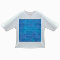 Textured Blue & Purple Abstract Baby T Shirt