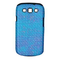 Textured Blue & Purple Abstract Samsung Galaxy S Iii Classic Hardshell Case (pc+silicone)