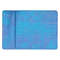 Textured Blue & Purple Abstract Samsung Galaxy Tab 10.1  P7500 Flip Case
