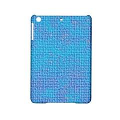 Textured Blue & Purple Abstract Apple Ipad Mini 2 Hardshell Case