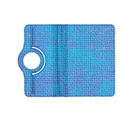 Textured Blue & Purple Abstract Kindle Fire HD (2013) Flip 360 Case