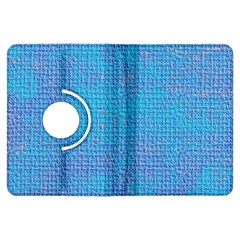 Textured Blue & Purple Abstract Kindle Fire HDX Flip 360 Case
