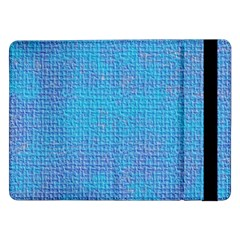 Textured Blue & Purple Abstract Samsung Galaxy Tab Pro 12.2  Flip Case