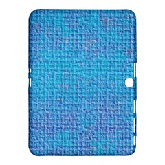 Textured Blue & Purple Abstract Samsung Galaxy Tab 4 (10 1 ) Hardshell Case